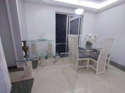 Conjunto de mesas com base de mármore travertino (usado)