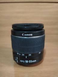 Lente Canon 18-55 Kit