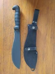 Faca de Combate Ka-Bar Machete Kukri 1248 Aço Carbono