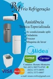 Assistência Técnica Especializada em Refrigeração