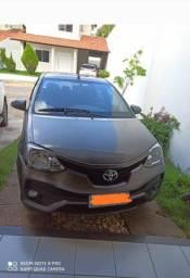 Etios Sedã xls 1.5 aut bem conservado 2018 -57.000