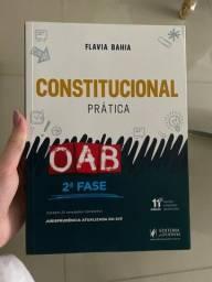 Livro (NOVO)para preparação de 2ª fase prática na OAB em Direito Constitucional