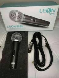 COD:0072 Microfone com fio leon-M58