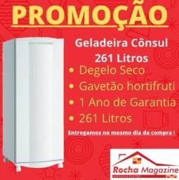 PROMOÇÃO:Geladeiras Degelo Seco 261L NOVAS CÔNSUL