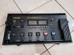 Pedaleira Boss Gt100 C/ Case