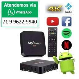 Conversor Smart Tv Box Pro 5g 4k 8gb 128gb 4 Core Android 11