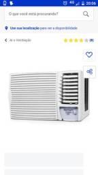 Venda de ar condicionado novo  12000 btus