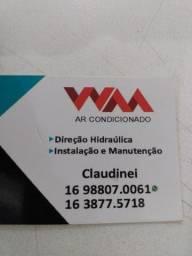 Manutenção e instalação de direção hidráulica e ar condicionado para veículos