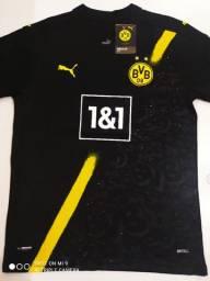 Camisa Borussia Dortmund Away Puma 20/21 - Tamanho: M