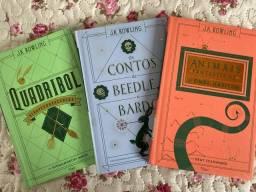 Livros - Coleção Biblioteca de Hogwarts.