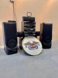 Toca disco da sony completo