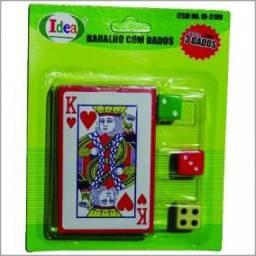 (WhatsApp) jogo de cartas com 3 dados
