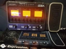 Pedaleira Zoom G3x