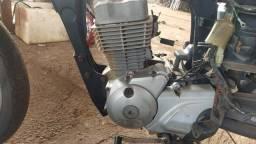 Motor Titan 150 com nota.