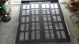 Porta Francesa de Correr - Timbó SC