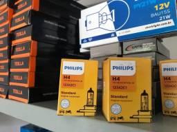 Lâmpada h4 Philips o par