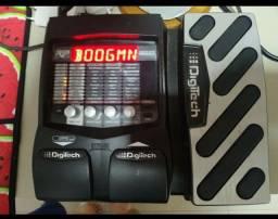 Pedaleira Digitech RP 255 com pouco uso, com caixa e manual