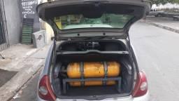 Kit GNV Convencional 02 de 7,5m³ R$2.300,00 desinstalado e vazio.