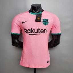 Camisa Nova Barcelona, Flamengo, Versão Jogador! Temos todos os times