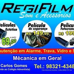 Promoção de películas automotiva e residência