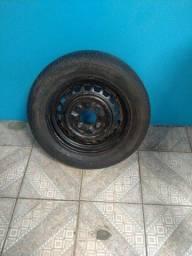 Roda 15 Fusca com pneu
