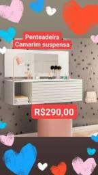 PENTEADEIRA CAMARIM SUSPENSA NOVAS MONTAGEM GRATUITA