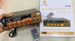 Mini amplificador 500w