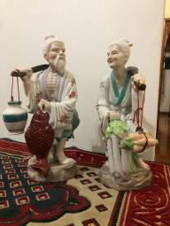 Estatuetas em Porcelana antiga