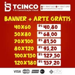 Banner + Arte Grátis
