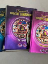 Vendo livros de ingles CCAA completos do pec 1 ao 9