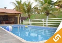 Chácara c/piscina, 3qtos com ar, Playground p/ as crianças. Cod.1022
