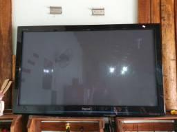 Televisão para retirar peças