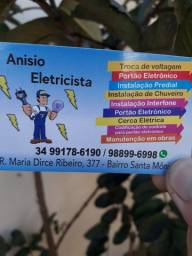 Eletricista predial construção  civil