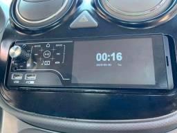 So 3 no estoque Autoradio Bluetooth Touch Screen e Comandos de Volante parcele sem juros