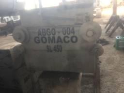 Acabadora concreto Gomaco..