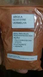 Argila Silvestre: Vermelha, Preta, Verde e Amarela.