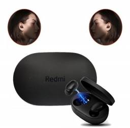 Fone sem Fio Redmi Airdots Bluetooth Preto