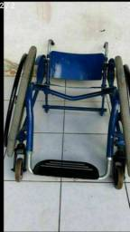 Quadro cadeira alumínio monobloco