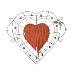 Título do anúncio: Cesta Metálica Coração