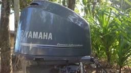 "Motor de Polpa Yamaha 200hp  4 Tempos 6 Cilindros 2013 Rabeta longa 25"""