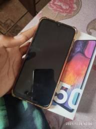 ?Galaxy A50 64g impecável, apenas vendo?