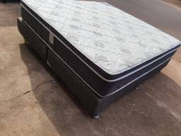 Cama box super King semi nova