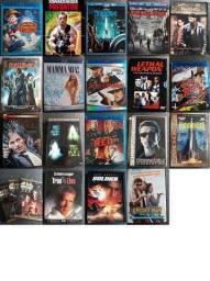 Filmes e Desenhos Diversos Títulos Blu-Rays DVDs Originais - Alguns Raros