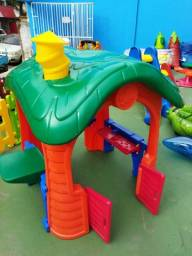 Aluguel Casinhas playground por 30 dias de diversão