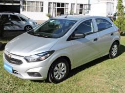 GM Chevrolet Onix JOY 1.0 2020 prata - 2.000 km, igual a novo