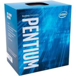 Processador 1151 Intel 9ª Geração Pentium G4560 Kaby Lake, 3.50 Ghz, Cache 3 Mb, Bx80677G4