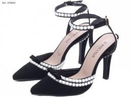 Sapato Scarpin Pérolas