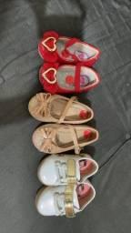 Sapatinhos de bebê menina