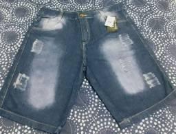 Bermuda jeans tam.42