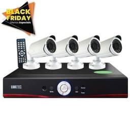 Promoção!KIT 4 Câmeras com instalação inclusa a partir de R$1.400.00